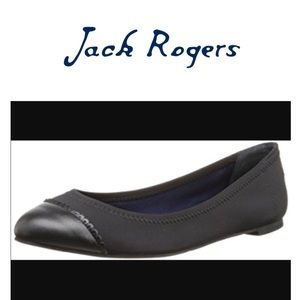 Jack Rogers Bree Black Ballet Flat